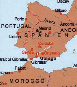 Finca Los Gamos im Zentrum der maurischen Vergangenheit
